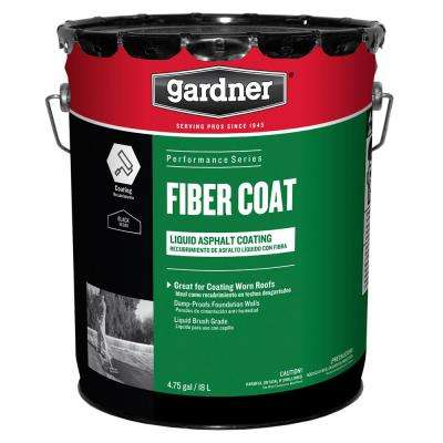 4.75 Gal. Fiber Coat Liquid Asphalt Roof Coating (18 Pallet)