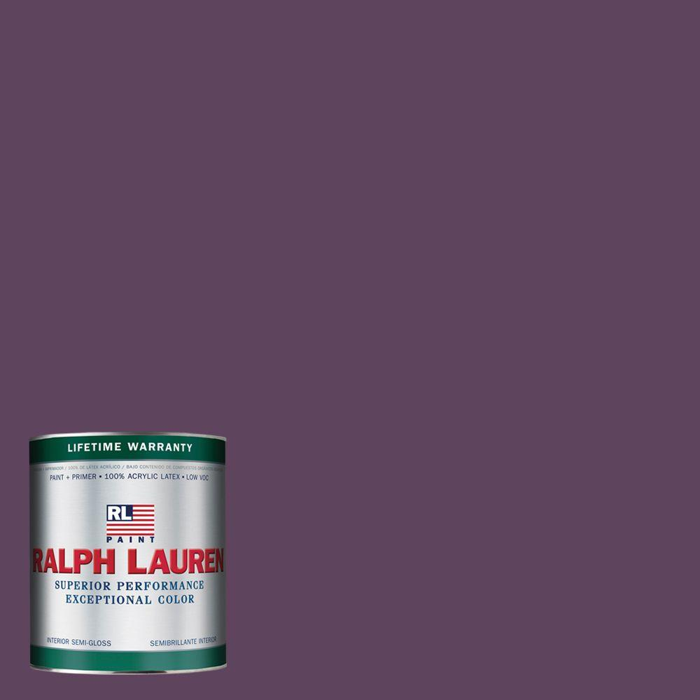 Ralph Lauren 1-qt. Knole Purple Semi-Gloss Interior Paint