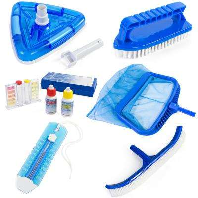 6 Piece Pool Maintenance Kit, Deluxe Package