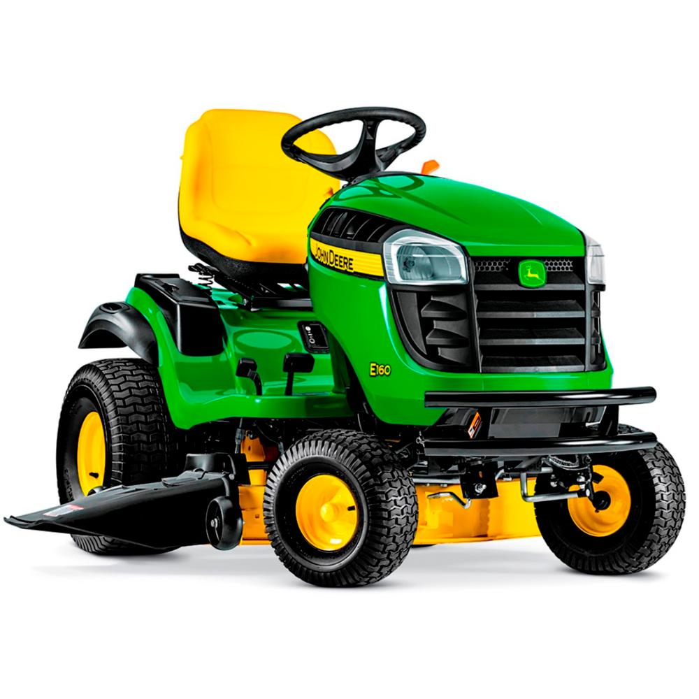John Deere E160 48 in  24 HP V-Twin ELS Gas Hydrostatic Lawn Tractor