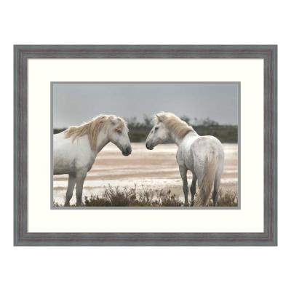 """Friendship"" by Jorge Llovet Framed Wall Art"