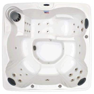 Home and Garden 6 Person 32 Jet Spa with Stainless Jets and Ozone Included