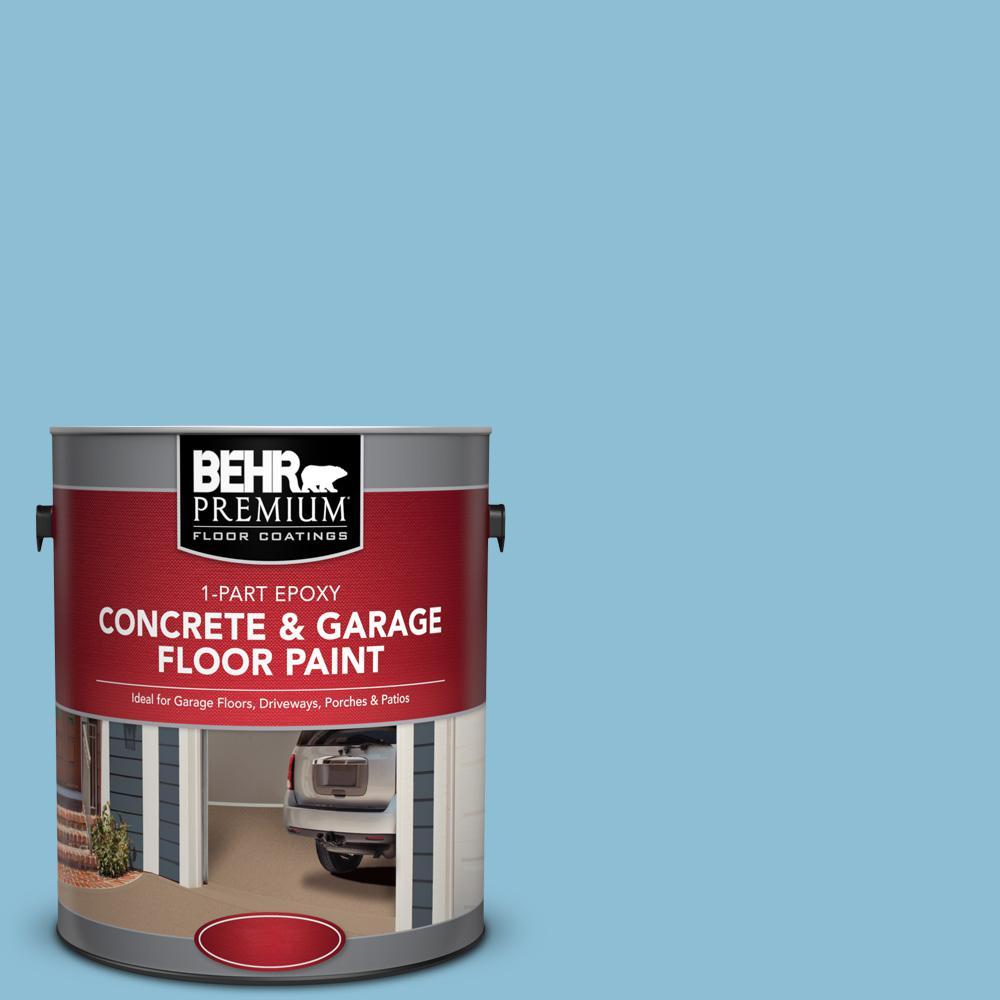 1 gal. #M490-3 Speedboat 1-Part Epoxy Concrete and Garage Floor Paint