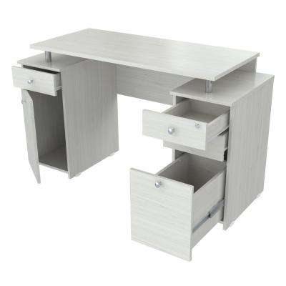 Laricina White Computer Desk