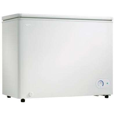 7.2 cu. Ft. Chest Freezer in White with 5-Year Warranty