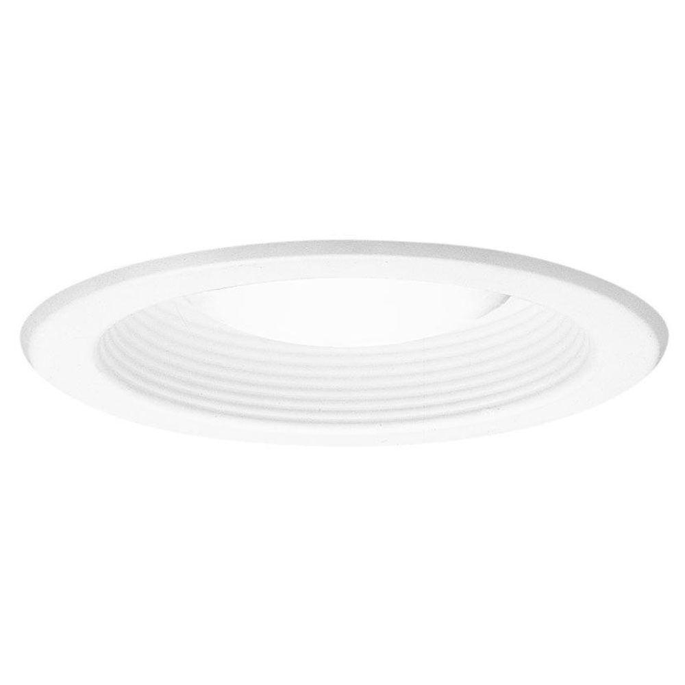 5000 Series 5 in. White Recessed Ceiling Light Trim with Open