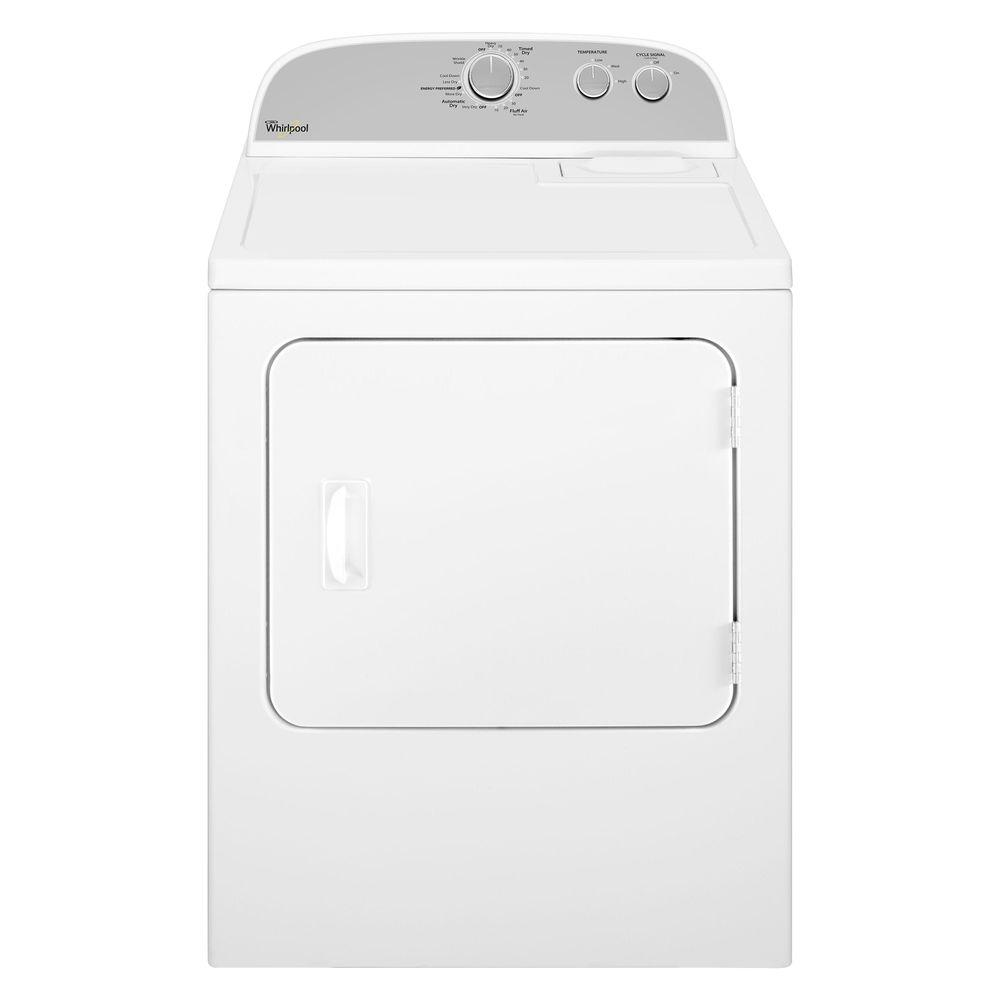 Whirlpool 7.0 cu. ft. Gas Dryer in White