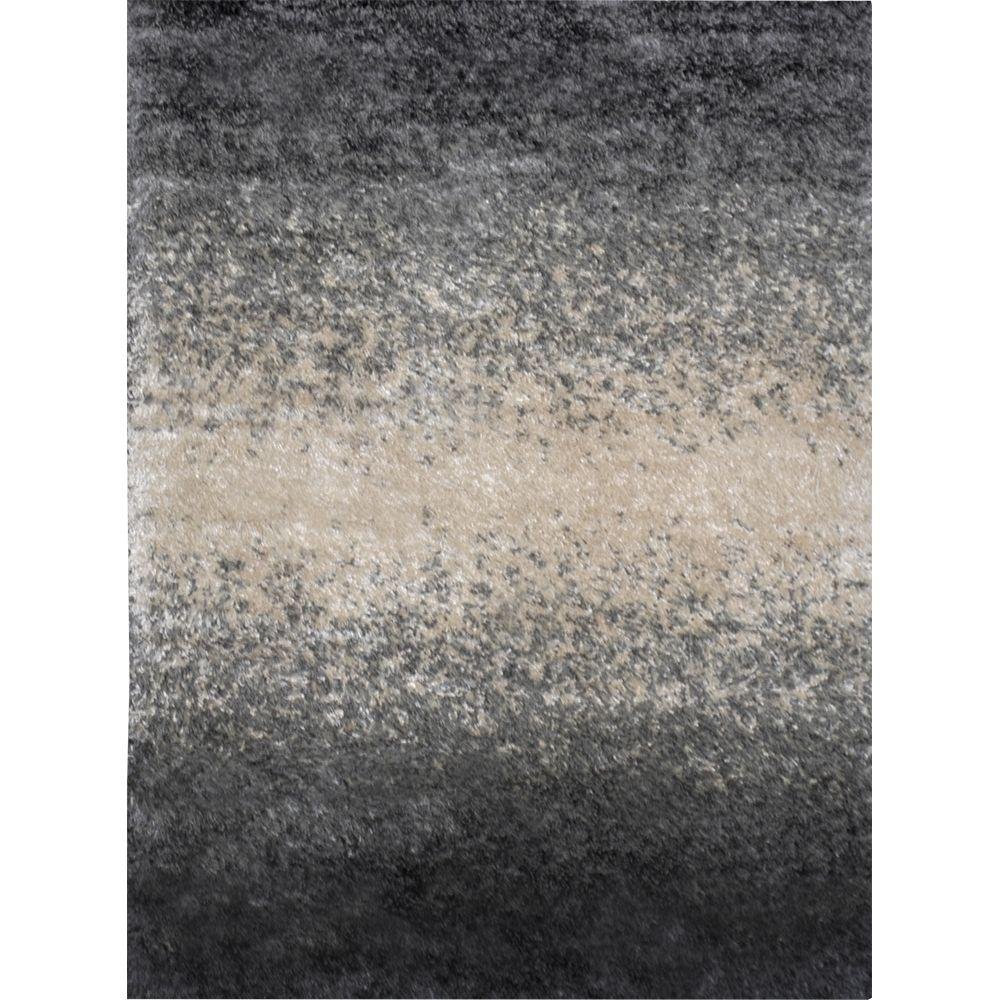 Home Dynamix Sizzle Gray Beige 5 Ft X 7 Ft Indoor Area
