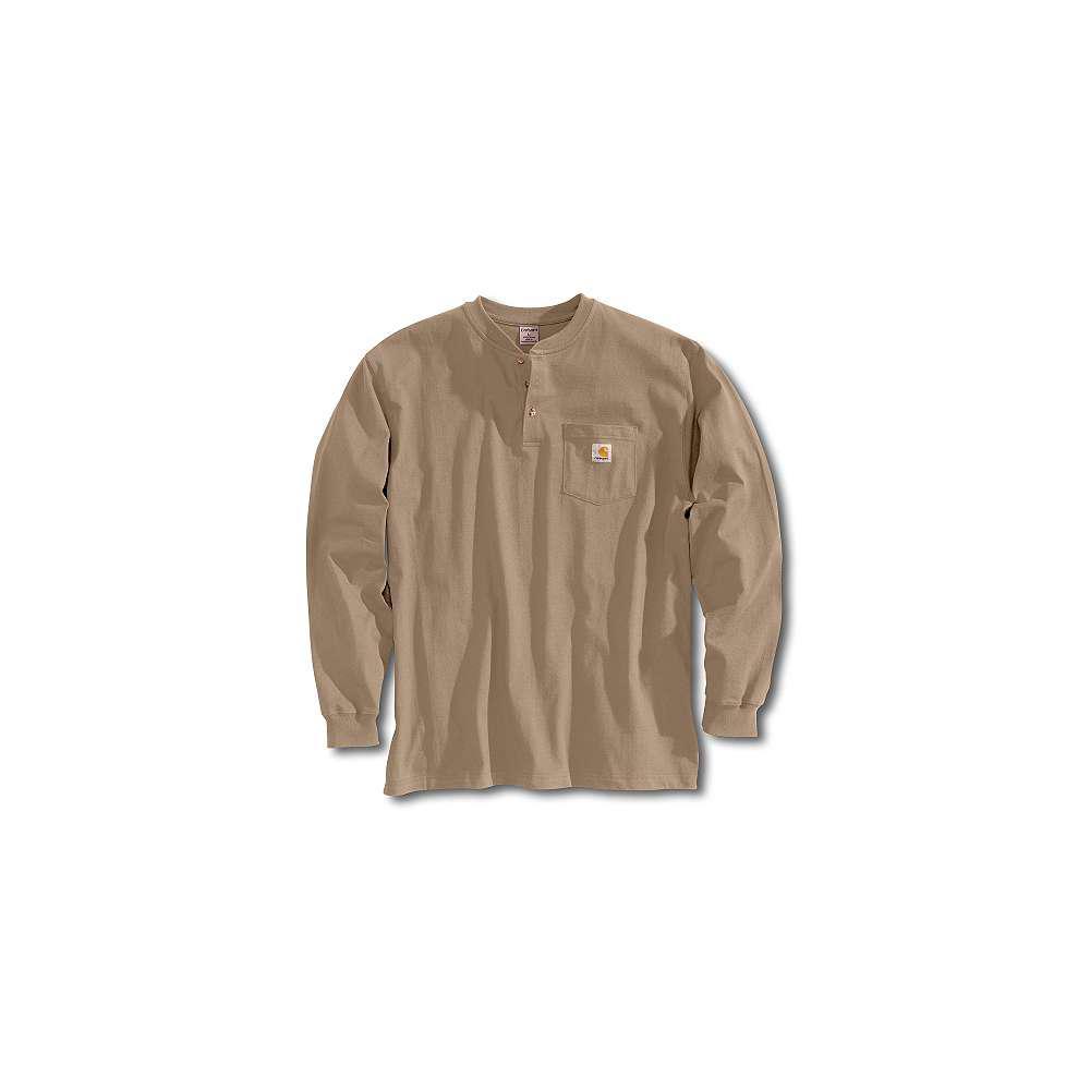 Men's Regular Medium Desert Cotton Long-Sleeve T-Shirt