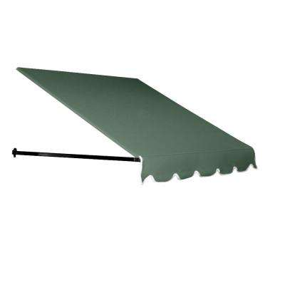 6 ft. Dallas Retro Window/Entry Awning (24 in. H x 36 in. D) in Sage