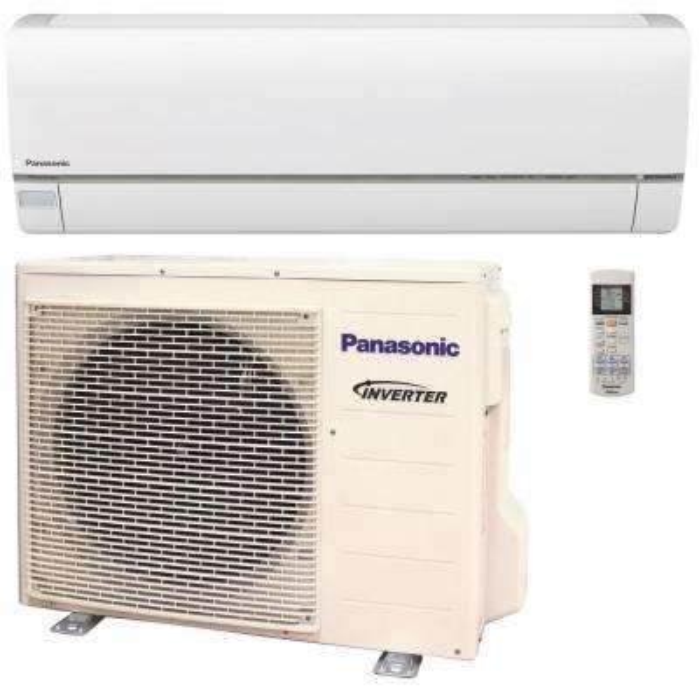 12,000 BTU 1 Ton Exterios XE High SEER Ductless Mini Split Air Conditioner with Heat Pump - 208-230V/60Hz