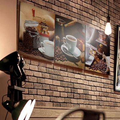 """16 in. x 48 in. """"Cup of Coffee"""" Printed Wall Art"""