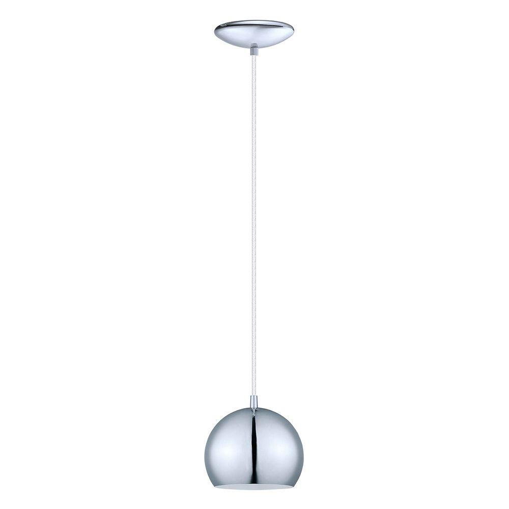 Eglo Petto 1 Light Chrome Mini Pendant