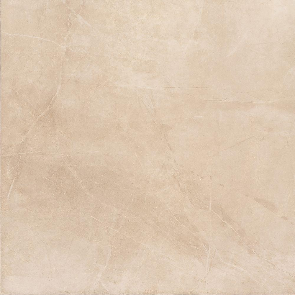 6x6 porcelain floor wall tile porcelain tile the home depot concrete connection boulevard beige 6 12 in x 6 1 doublecrazyfo Images