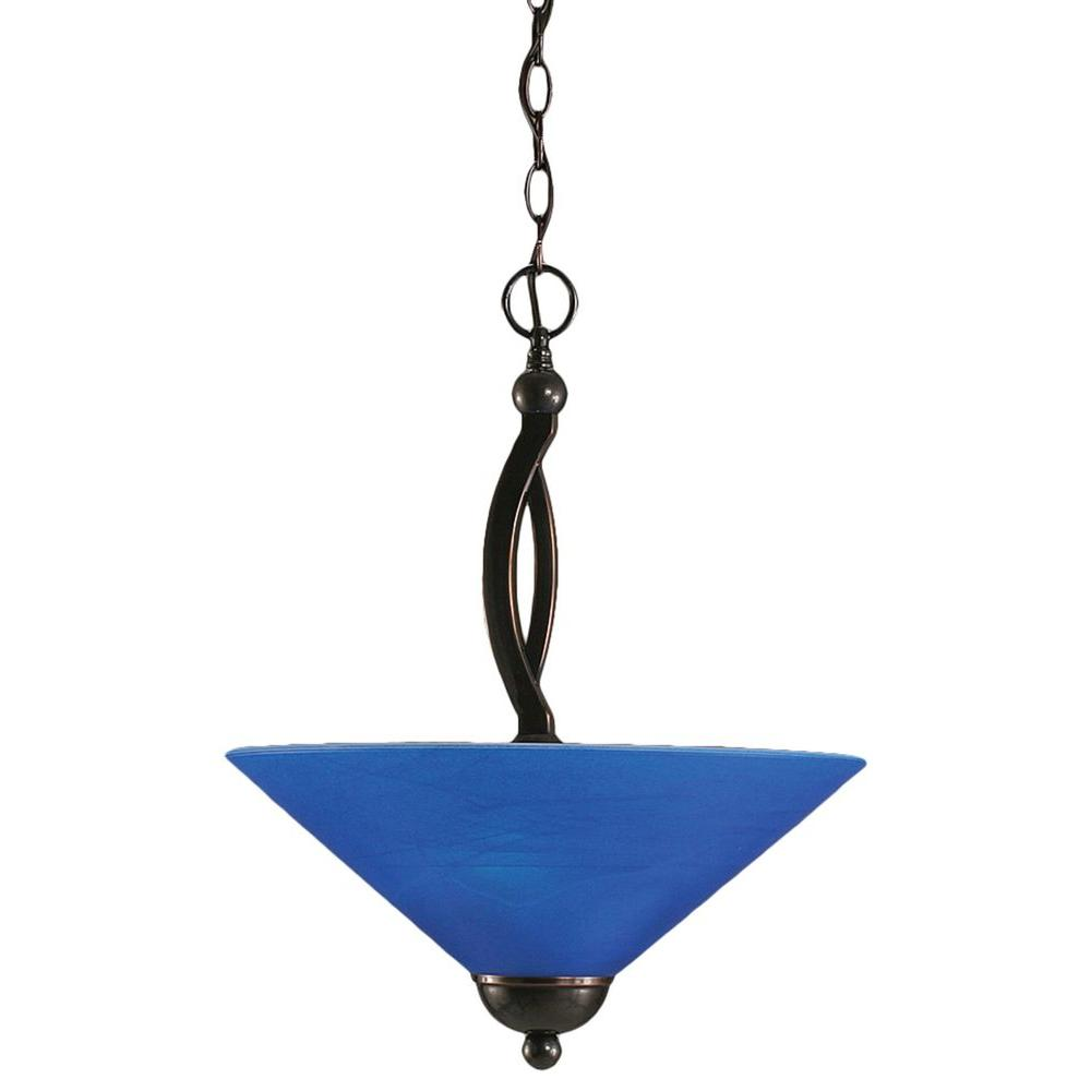 Concord 3-Light Bronze Incandescent Ceiling Pendant