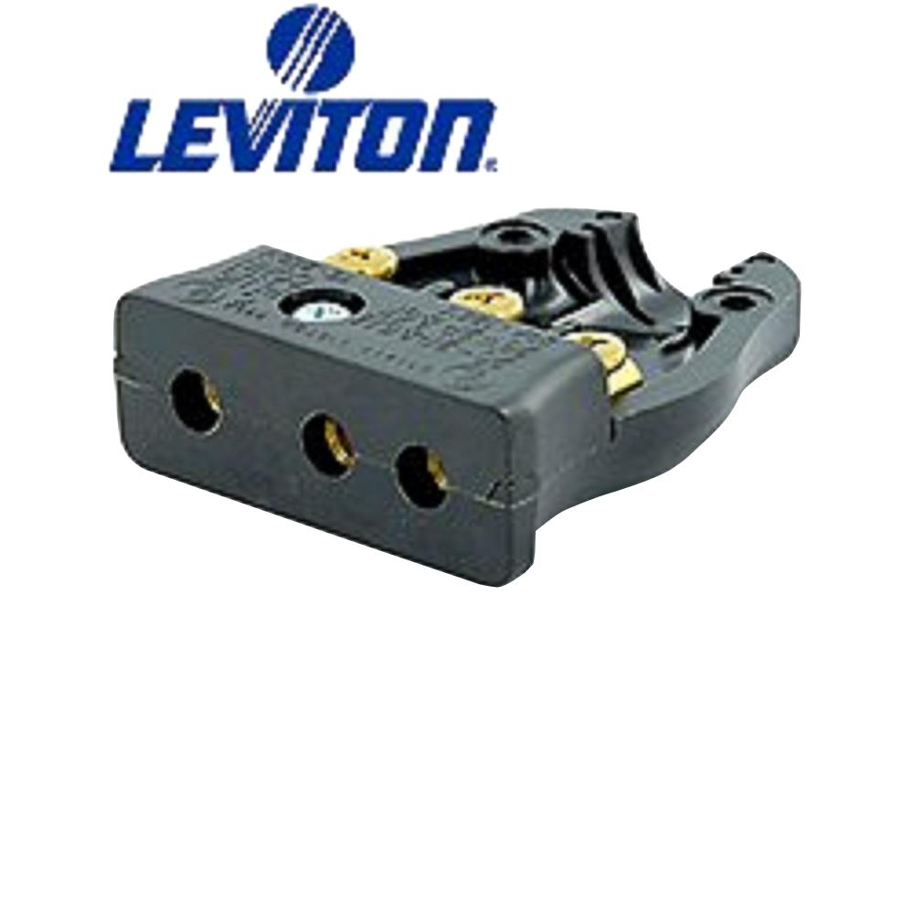 Leviton 20 Amp 125-Volt 2 Pole-3-Wire Stage Pin Female Co...