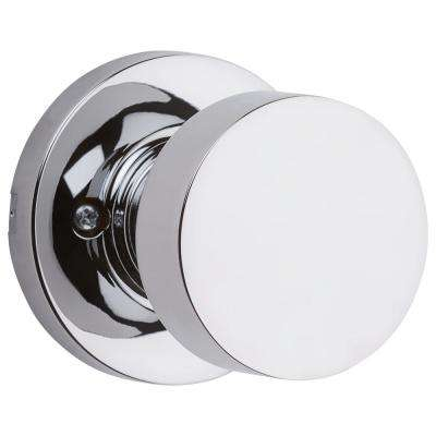 Pismo Round Polished Chrome Dummy Door Knob