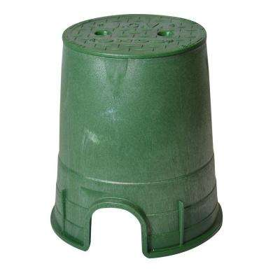 Pro Series 6 in. Round Valve Box and Cover - ICV