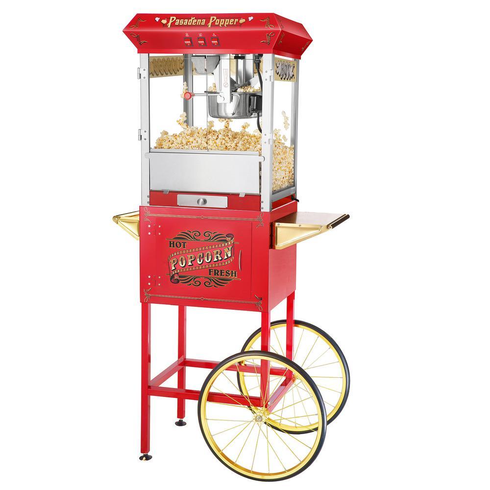 Pasadena Popcorn Machine and Cart
