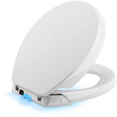 Purefresh Round Closed Front Toilet Seat in White