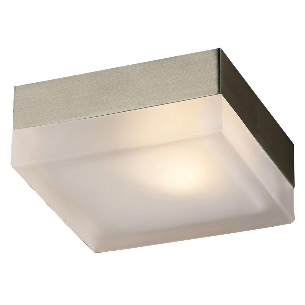 wac lighting led dice mount flush product ceiling glass light fm prod contemporary square