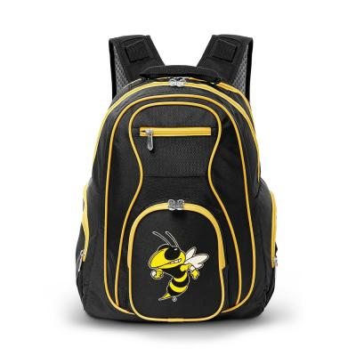 NCAA Georgia Tech Yellow Jackets 19 in. Black Trim Color Laptop Backpack