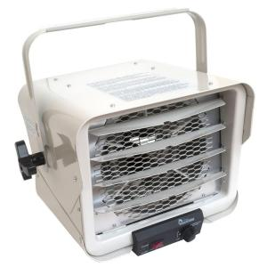 6000-Watt Portable Commercial Industrial Hardwire Fan Heater with Adjustable Air Flow