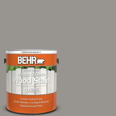 1 gal. #N360-4 Battleship Gray Solid Color House and Fence Exterior Wood Stain