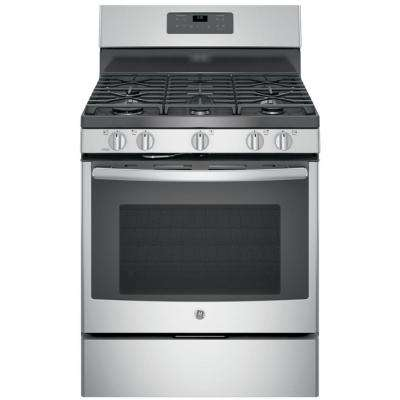 5.0 cu. ft. Gas Range with Self-Cleaning Oven in Stainless Steel