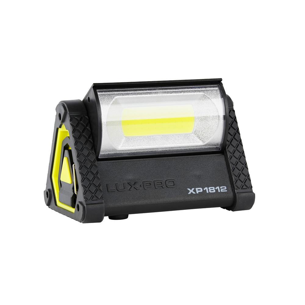 LUXPRO Pro Series 1050 Lumens Broadbeam LED Directional Pivoting Work Light