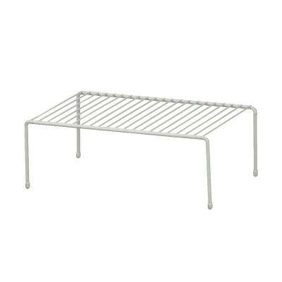 16 in. W x 5 in. H x 8 in. D Single Ventilated Wire Shelf