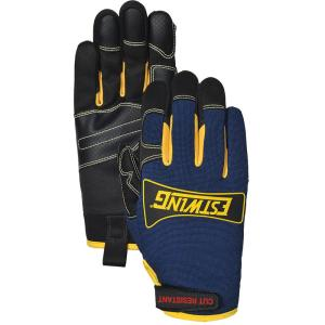 Estwing ANSI 4 Cut Protection Synthetic Leather Palm Work Medium Glove by Estwing