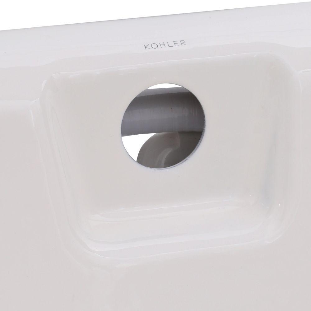 KOHLER K-852-H2-0 Tea-For-Two 5-Foot Whirlpool White