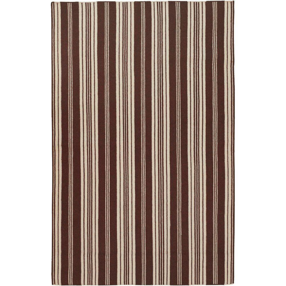 Country Living Brown 5 ft. x 8 ft. Flatweave Area Rug
