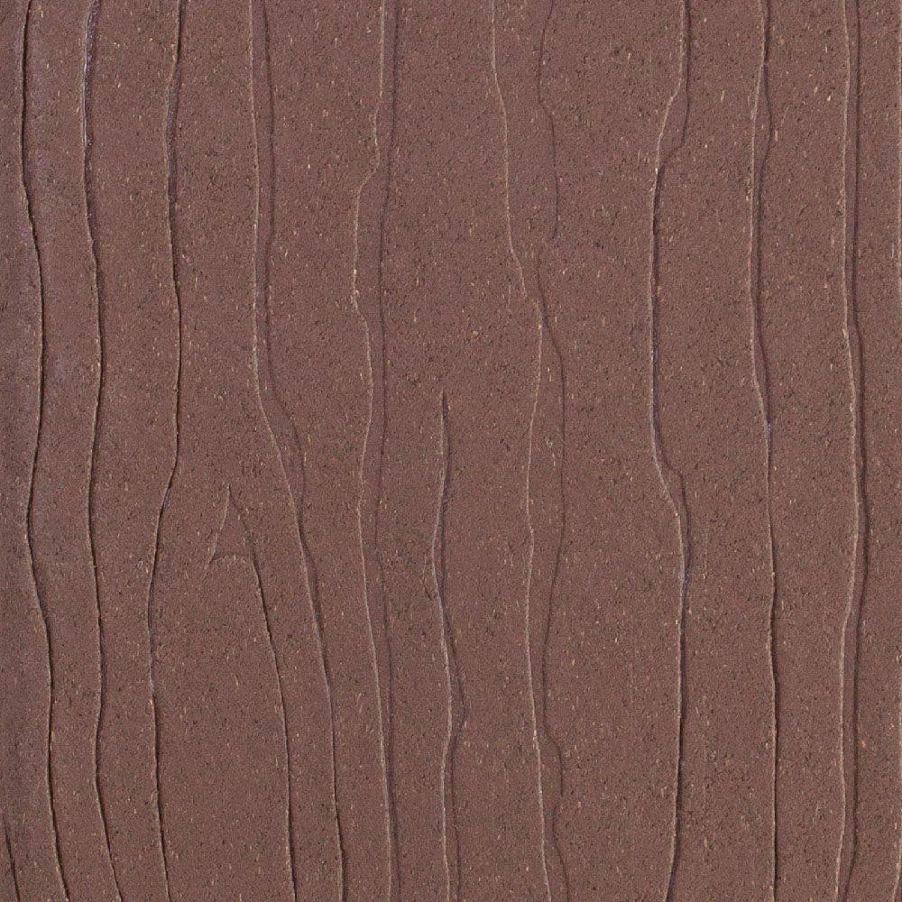 MoistureShield Vantage 1 in. x 5-3/8 in. x 1/4 ft. Mahogany Composite Decking Board Sample
