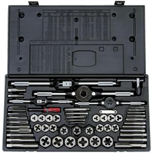 Vermont American High Speed Steel Tap and Die Set (58-Piece) by Vermont American