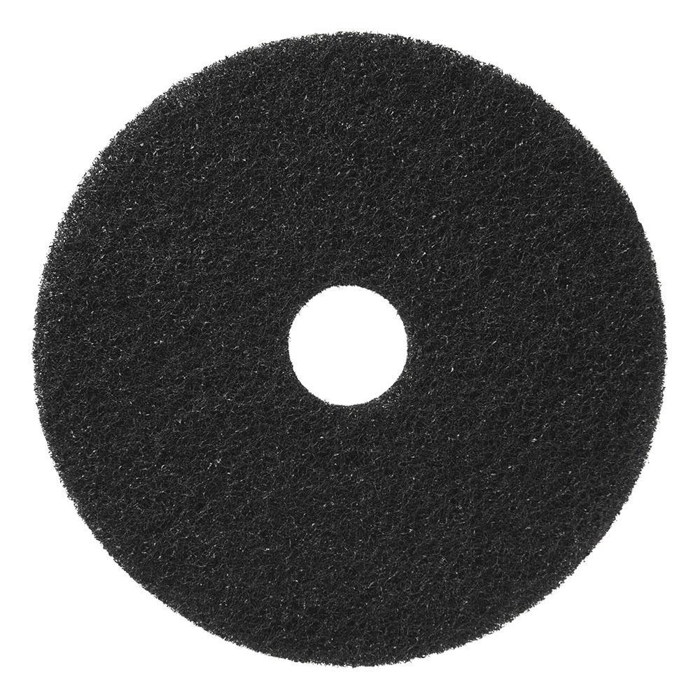 20 in. Black Floor Stripping Pad (Pack of 5)