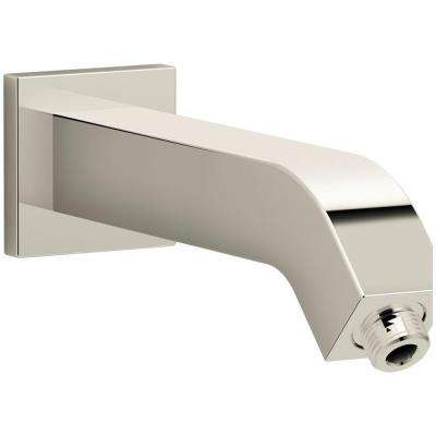 Loure Shower Arm and Flange, Vibrant Polished Nickel