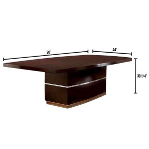 Lawrence Dark Cherry Dining Table