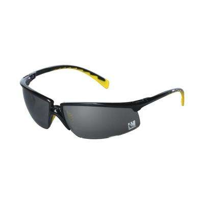 Holmes Workwear Black Frame with Gray Lenses Safety Glasses (Case of 6)