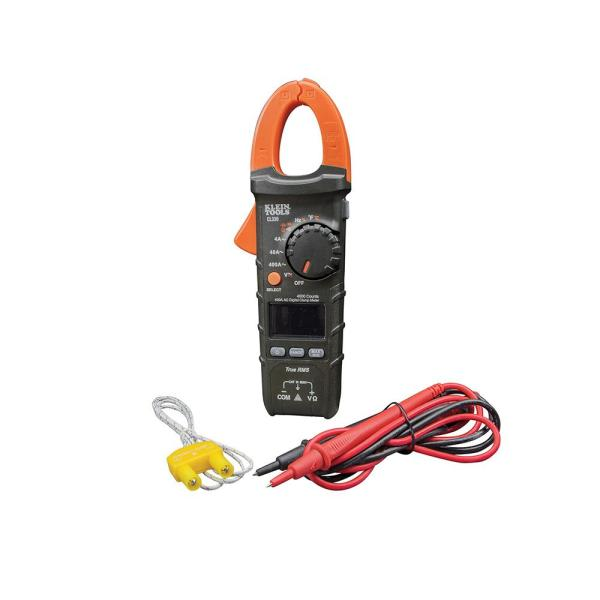400A AC Auto-Ranging Digital Clamp Meter