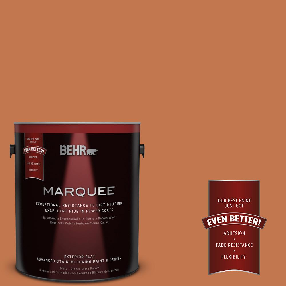 1-gal. #240D-6 Chivalry Copper Flat Exterior Paint
