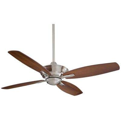 New Era 52 in. Indoor Brushed Nickel Ceiling Fan with Remote Control