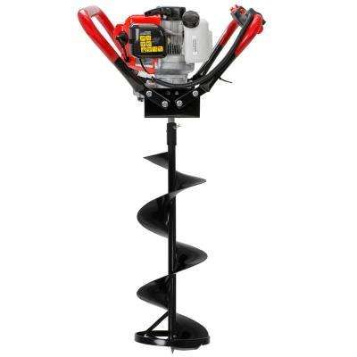 10 in. 55cc Gas Powered Ice Auger Kit