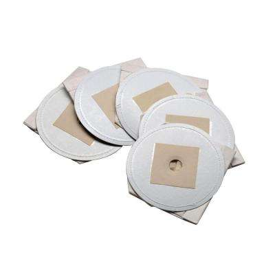 Replacement Filter Bags for Metro MDV-2 and MDV-3 Series Handheld Vacuums (5-Pack)
