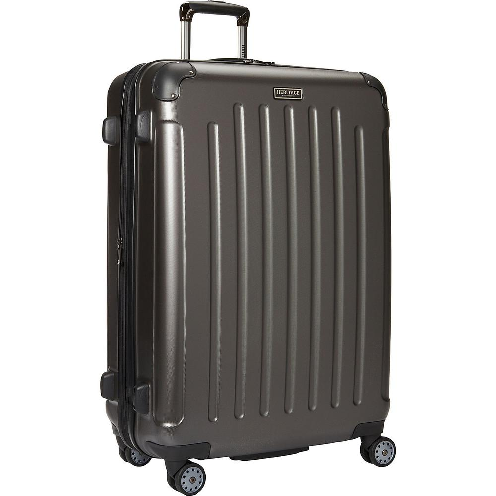 """Logan Square"" Collection Lightweight Hardside ABS 8-Wheel Expandable"