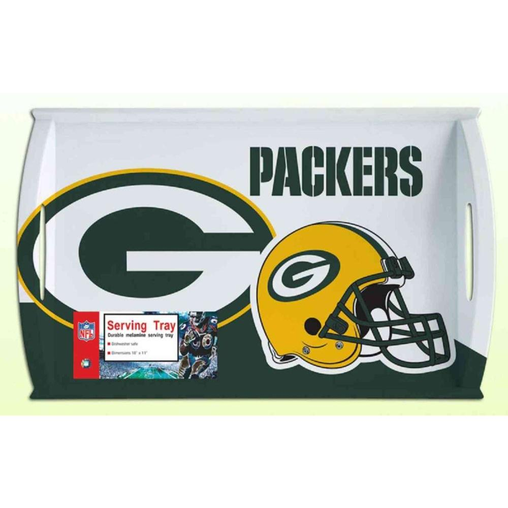 Siskiyou Sports NFL Green Bay Packers Melamine Serving Tray-DISCONTINUED