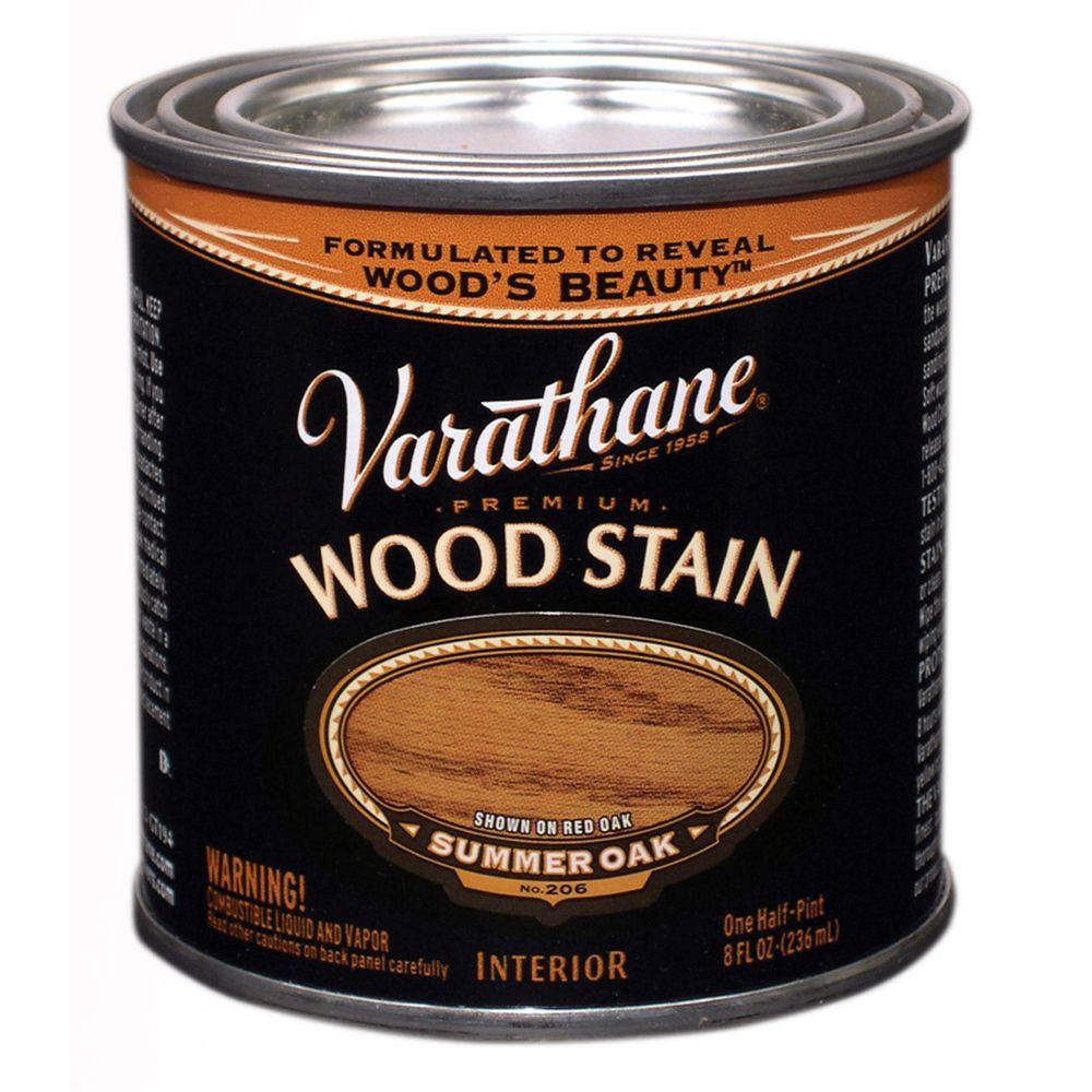 1/2-Pint Summer Oak Premium Interior Wood Stain No.206