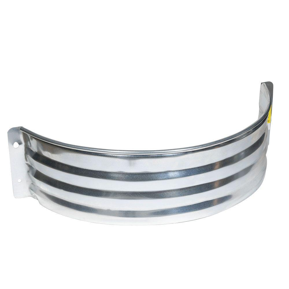 Amerimax Home Products 18 in. Galvanized Area Wall