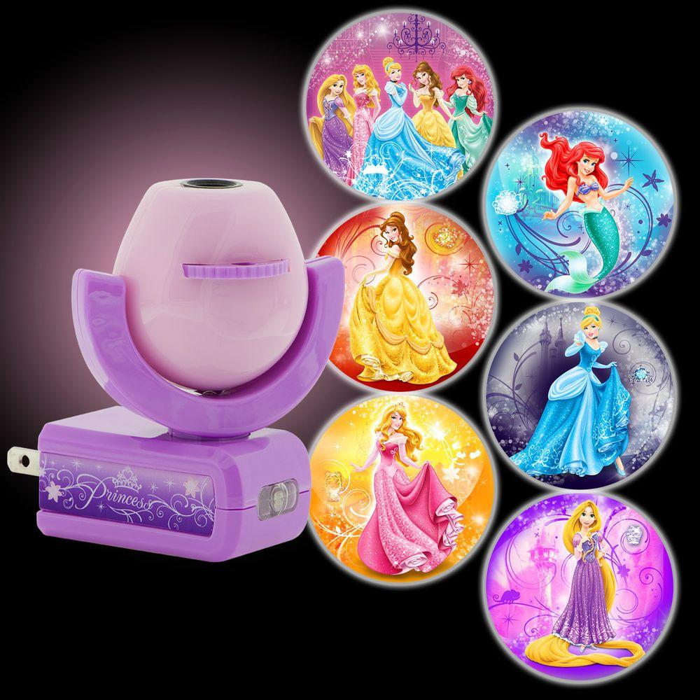 Jasco Projectables Disney Princesses Plug-In Night Light